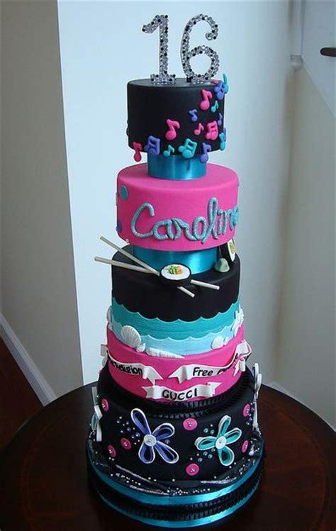 tier sweet  birthday cake  girl  likes sushi