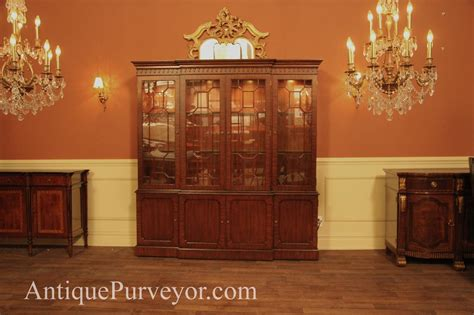 china cabinet with lights four door mahogany china cabinet with lights new high end