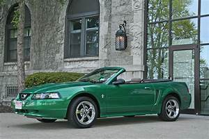 Electric Green 2000 Ford Mustang