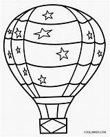 Balloon Coloring Pages Air Printable Balloons Adult Sheets Print Cool2bkids Books sketch template