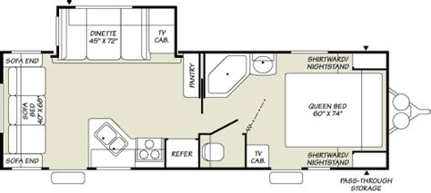2003 Prowler Travel Trailer Floor Plans by 2007 Fleetwood Prowler Travel Trailer Rvweb