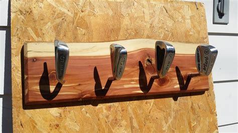 golf club coat racks  sawdustydan