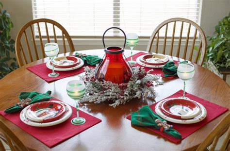 Fun Christmas Table Decorations From Pinterest