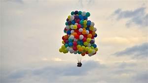 Trans-atlantic Cluster Balloon -  U0026quot Newfoundland Express U0026quot  - Col  Kittinger Mix