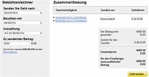 Western Union Gebühren Berechnen : bersicht kosten geb hren bei western union ~ Themetempest.com Abrechnung