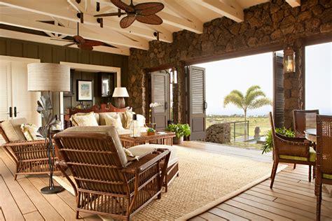Hawaiian Plantation Style Home Decor