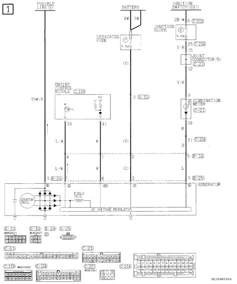 2002 Mitsubishi Eclipse Wire Diagram by I A 2002 Mitsubishi Lancer 2 0l And The Battery Died