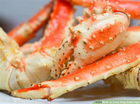 how to boil crab legs in a pot 4 ways to cook king crab legs wikihow