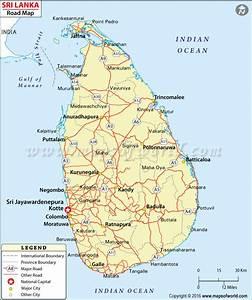 Sri Lanka Road Map