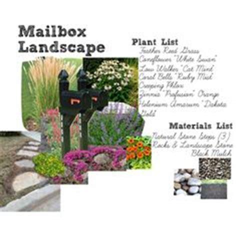 mailbox landscaping on mailbox garden mailbox