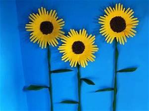 Basteln Sommer Grundschule : die besten 25 sonnenblume basteln ideen auf pinterest basteln fr hling sommer fr hlingsfest ~ Frokenaadalensverden.com Haus und Dekorationen