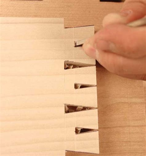 houndstooth dovetails  rob cosman easy woodworking