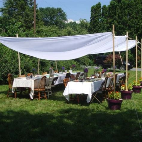 Diy Backyard Canopy by Shabby Chic Canopy For Wedding Shower Crafts In 2019