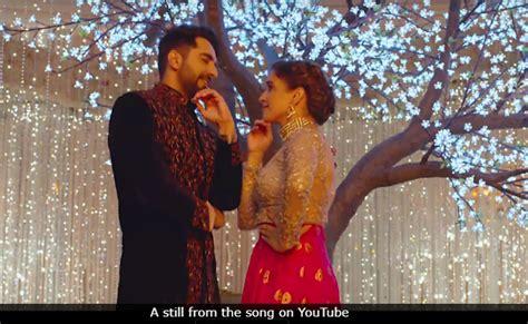 Ayushmann Khurrana And Sanya
