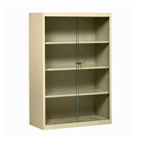 metal bookcase with doors steel bookcase with glass doors 8804071