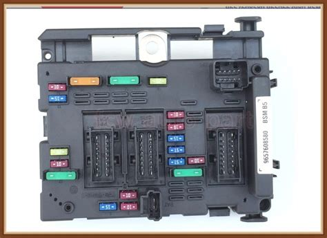 Citroen C3 Fuse Box Problem by Fast Shipping Fuse Box Unit Assembly Relay For Peugeot 206