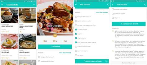 application recette cuisine 4 applications pour cuisiner 224 partir des ingr 233 dients de