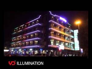 iraq life palace hotel outdoor building facade led With outdoor led lighting for hotels