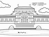 Asf Coloring Shakespeare Carolyn Blount Theatre sketch template