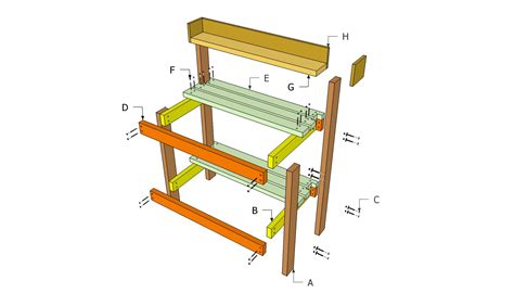 potting bench plans free free outdoor plans diy shed
