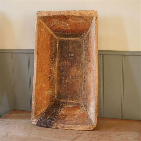 antique wooden dough trough antique vintage french wooden dough bin trough by homestead store notonthehighstreet com