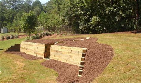 timber retaining wall designs timber retaining wall designs landscape timber retaining wall