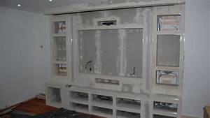 Ideen Tv Wand : kreativ tv wand bauen wunderbar naturstein led tv selber ~ Lizthompson.info Haus und Dekorationen