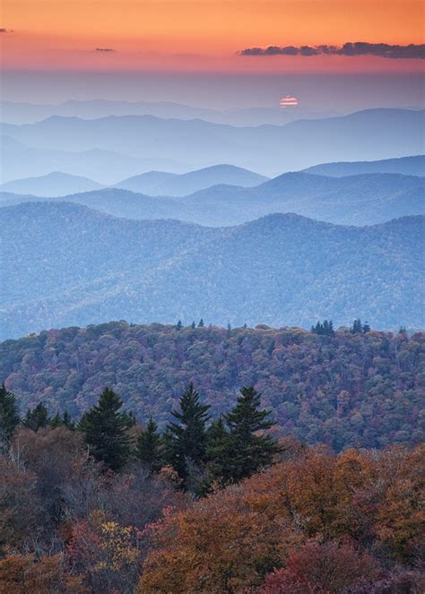 Appalachian Mountains Fall Iphone Wallpaper by Blue Ridge Mountains Pics