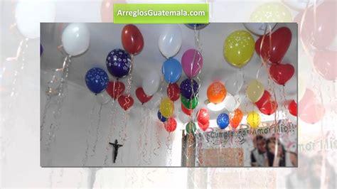 como decorar para un cumple anos de hombre globos de cumplea 241 os para hombres