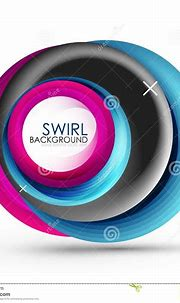 Spiral Swirl Flowing Lines 3d Vector Abstract Background ...