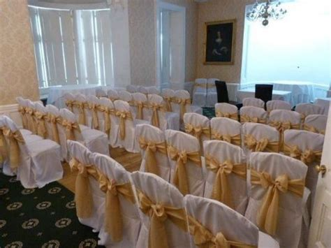 wedding chair covers peterborough ambience venue styling peterborough wedding venue