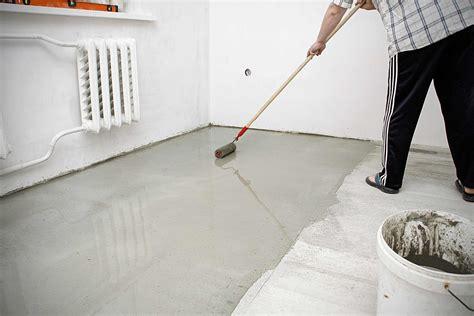 Fußboden Fliesen Für Garage by Boden Beschichten Hornbach