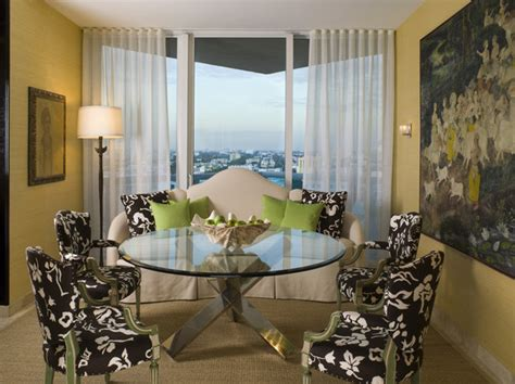 contemporary  eclectic dining room dining room