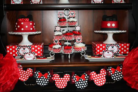 mickey minnie mouse party clean living clean eating