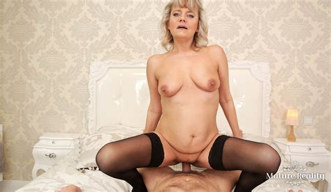 Aging Like Wine Mature Horny Blonde Hardcore Fuck Vr