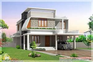 3, Beautiful, Modern, Home, Elevations