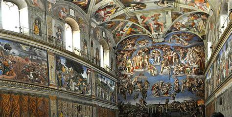 chapelle sixtine michel ange plafond le de cathnounourse visite de la chapelle sixtine