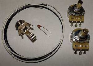 Precision P Bass Guitar Wiring Kit Cts 250k Solid Pots