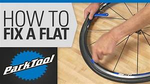How To Fix A Flat Tire On A Bicycle Youtube