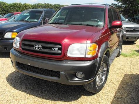 2003 Toyota Sequoia Sr5 V8 by Purchase Used 2003 Toyota Sequoia Sr5 Sport Utility 4 Door