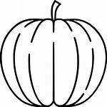 Pumpkin Icon Svg Icons Nutritious Vegetable Halloween
