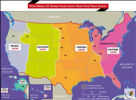 usa time zones archives answers