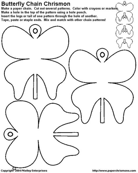 d d caign template 17 best images about paper chain templates on crafts paper doll chain and lego