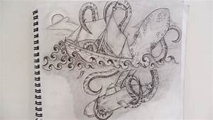 Giant octopus by NadineSavage on DeviantArt