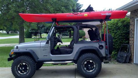 jeep kayak rack jeep wrangler kayak rack furniture ideas for home interior
