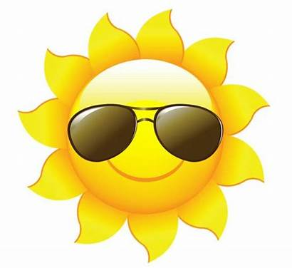 Sun Cartoons Clip Clipart Summer Fun Beach