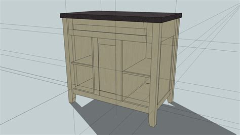woodworking projects vanity plans