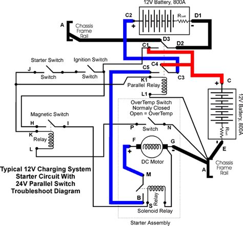 12 Volt Dc Motor Starter Wiring Diagram by How To Wire A Relay To A Starter Motor Impremedia Net