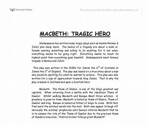 English As A World Language Essay Discuss Macbeth As A Tragic Hero Essay The Yellow Wallpaper Character Analysis Essay also Term Papers And Essays Macbeth As A Tragic Hero Essay Cheap Phd Essay Editor Websites  Research Essay Papers