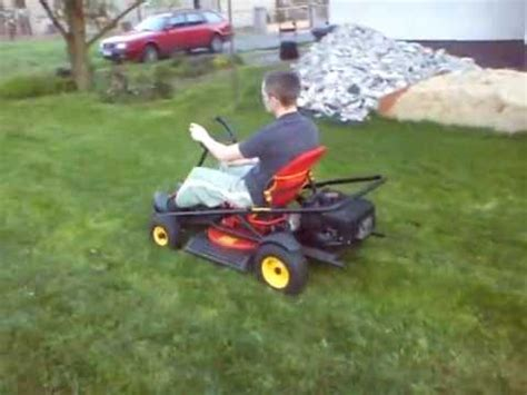 Wolf Garten Cart  Test Drive Youtube